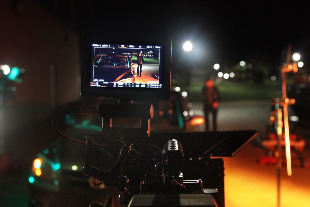 Max Diffusoin night shoot on a RED Dragon camera